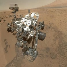 Curiosity MAHLI self-portrait, sol 84