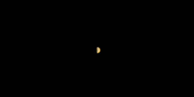 Mars Climate Orbiter's only image of Mars