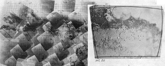 Planning Mariner 9 mosaics