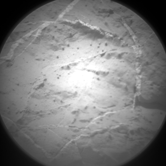 ChemCam image containing veins, sol 126