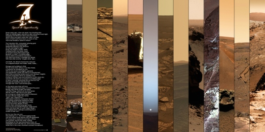 Seven Years of Roving Mars