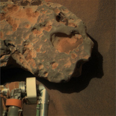 Oileán Ruaidh in living Martian color (Opportunity sol 2371)
