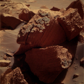 Chocolate Hills, Opportunity sol 2164