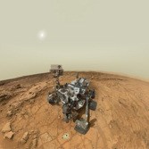 Curiosity's self-portrait at John Klein: interactive 3D panorama
