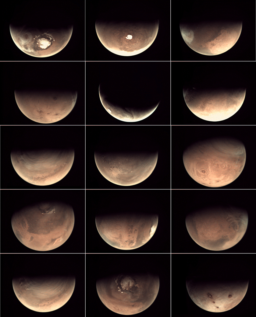 Some Favorite Shots from the Mars Webcam