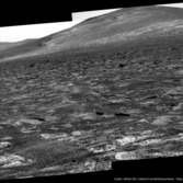 Pancam view of Solander Point, Opportunity sol 3363