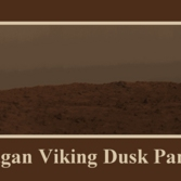 Carl Sagan Viking dust panorama