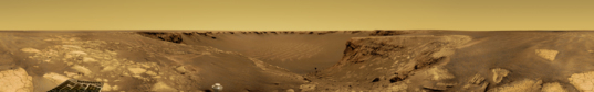 Opportunity postcard from Victoria crater, sols 1175-1183
