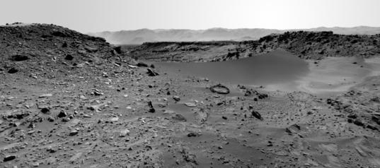 Dingo Gap, Curiosity sol 527