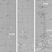Phil Stooke's Opportunity route maps (updated to sol 623)