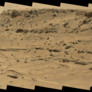 Outcrop on north side of Moonlight Valley, Curiosity sol 538