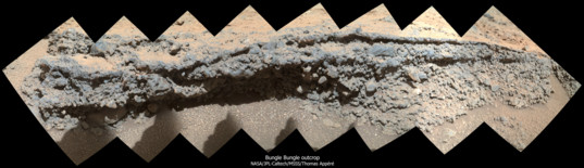 MAHLI view of