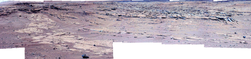 Kylie from the north, Curiosity sol 552