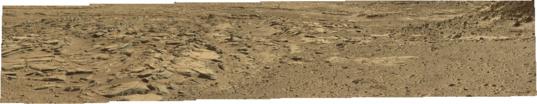 Mastcam-34 panorama of the Kimberley, Curiosity sol 589