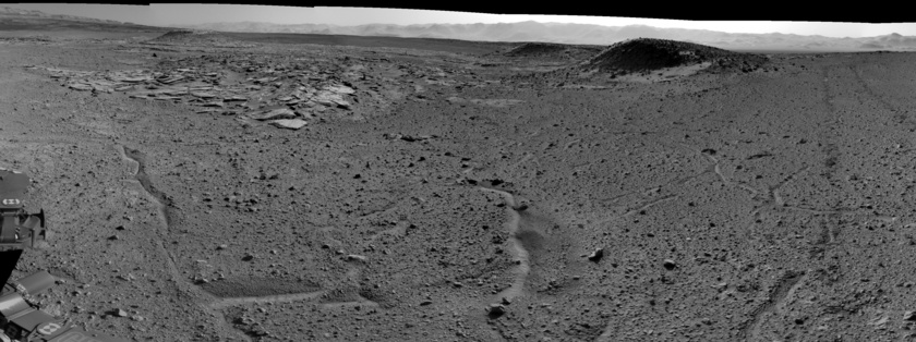 Curiosity takes in the Kimberley, sol 589