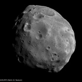 Close-up of Phobos from Mars Express