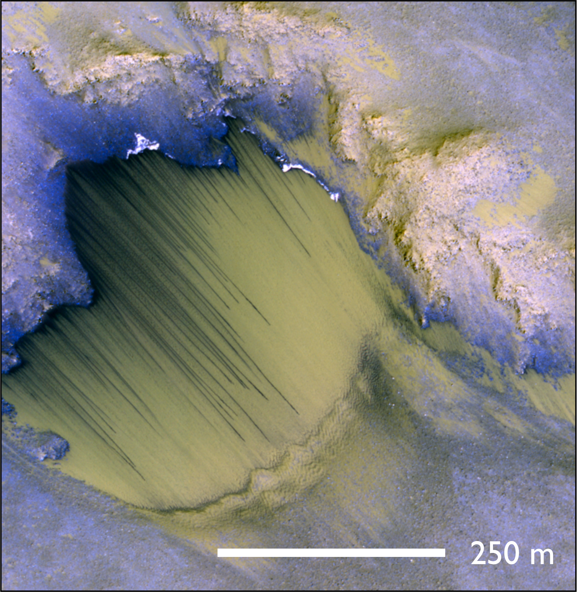 What's Seeping on Mars? Recurring Slope Lineae