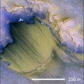 RSL site in Melas Chasma