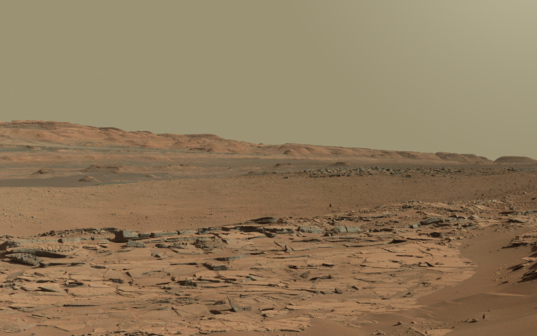 The foothills of Mount Sharp, Curiosity sol 620