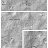 Phil Stooke's Curiosity route maps (updated to sol 744)