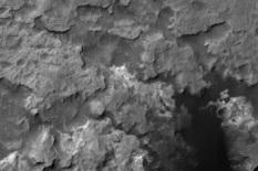 3D view of Hidden Valley and surrounding area, Curiosity landing site