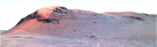 Pancam view of north-facing side of ridge at Cape Tribulation
