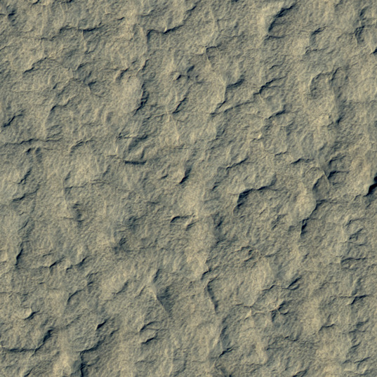 Terrain within the Mars Polar Lander landing ellipse