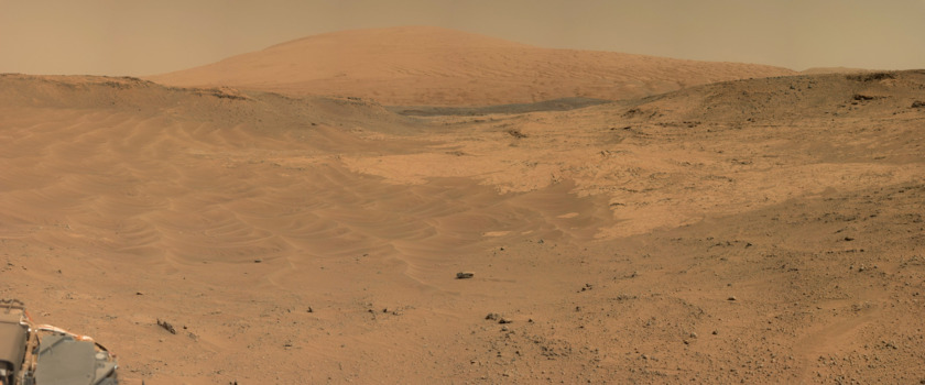 The Base of Mount Sharp, Curiosity sol 752