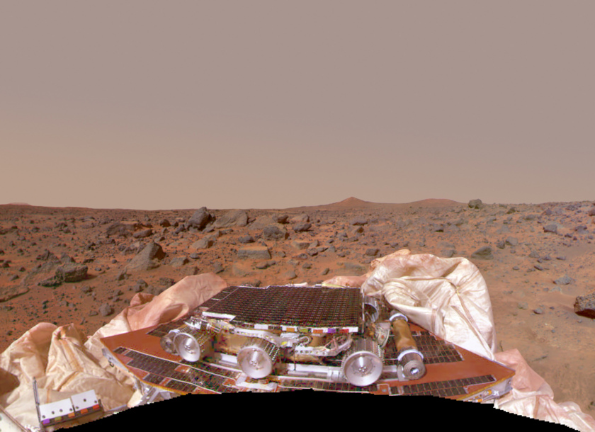Mars Pathfinder Mission Success Panorama