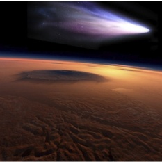 Comet Siding Spring encounters Mars