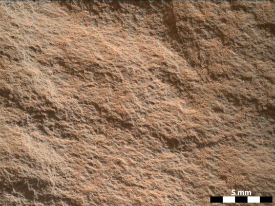 Aillik, Curiosity sol 322
