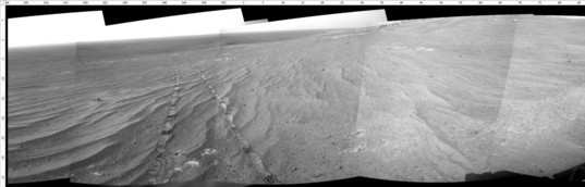 Navcam view north, sol 3848