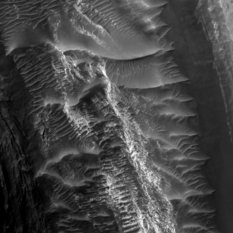 Pretty dunes in Gale Crater
