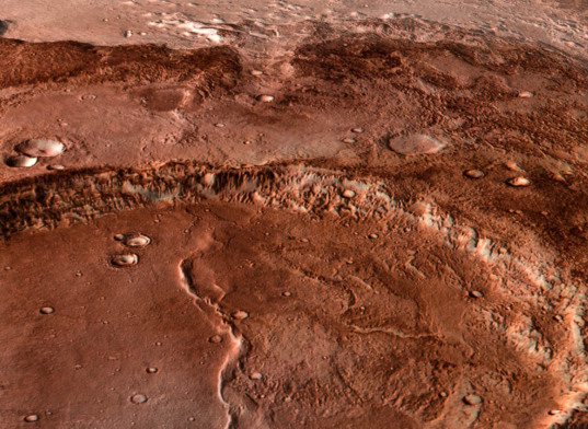 Mawrth Vallis 3D rendering