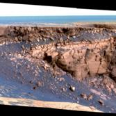 Cape St. Vincent, Victoria Crater, Opportunity sol 1167