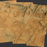 Curiosity Mastcam-100 panorama, sol 812 (Book Cliffs)