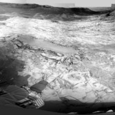 Curiosity Navcam panorama, sol 812 (Book Cliffs)