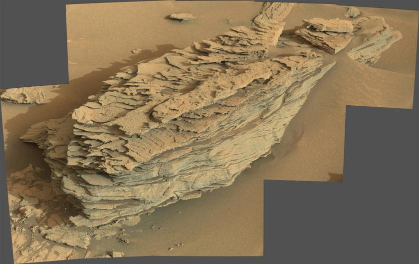 Whale Rock, sol 842