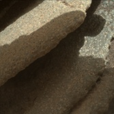 Closeup on Whale Rock, Curiosity sol 860