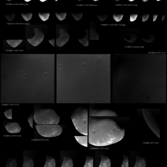 Every Viking Orbiter image of Mars' moon Deimos