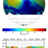 Early results from the Mars Orbiter Mission Methane Sensor for Mars (MSM) instrument