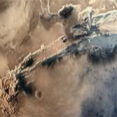 Valles Marineris from Mars Orbiter Mission