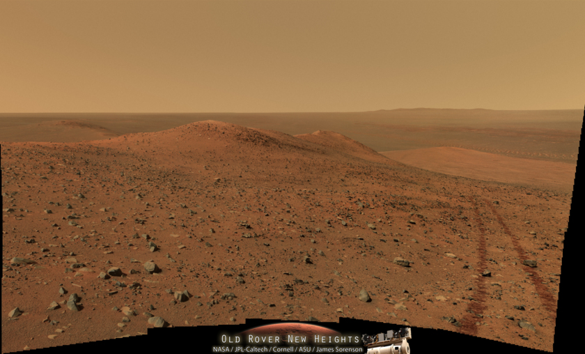 Opportunity at Wdowiak Ridge Sol-3786