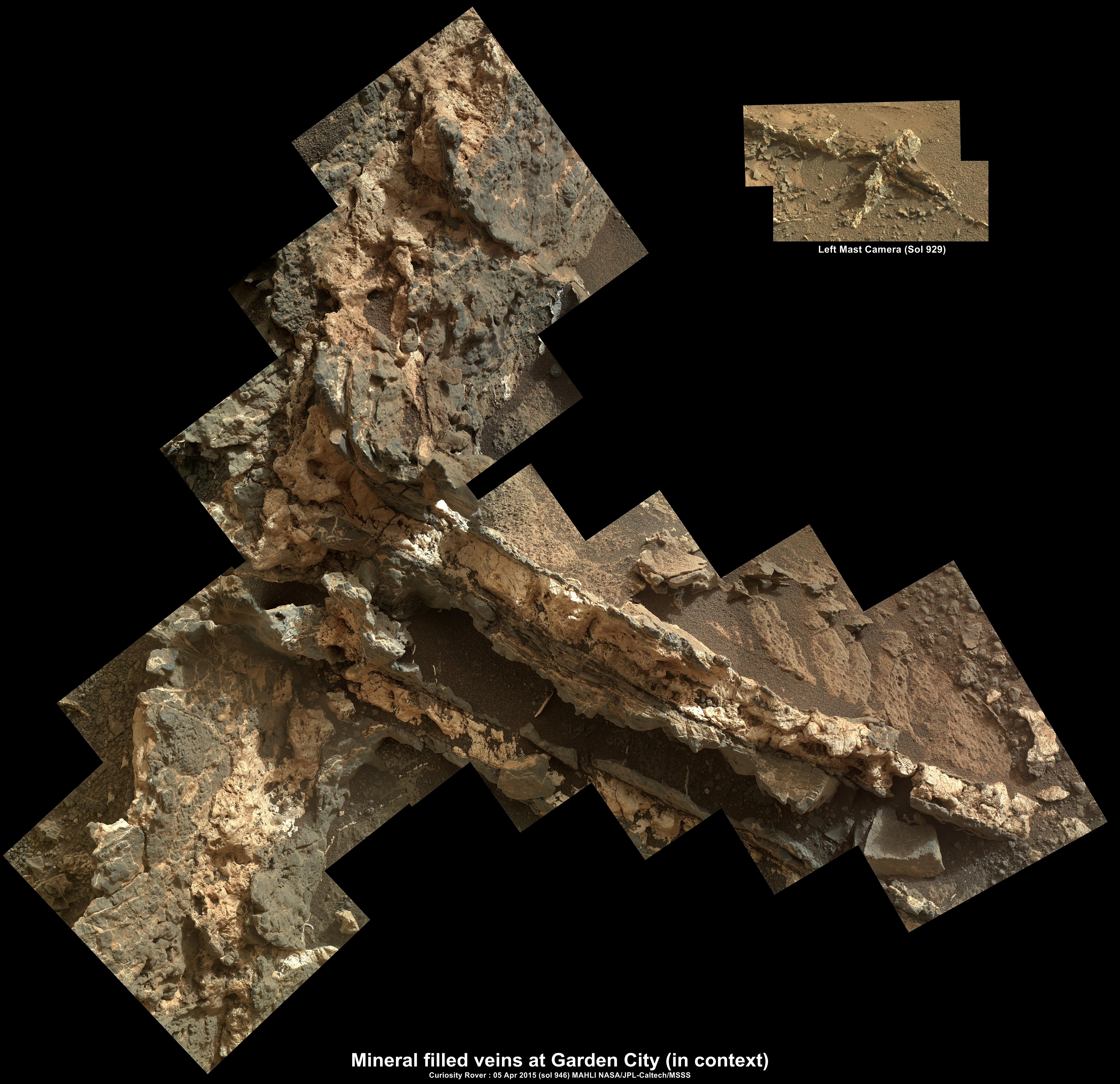 Curiosity update, sols 896-949: Telegraph Peak, Garden City, and ...