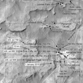 Phil Stooke's Curiosity route maps (updated to sol 911)