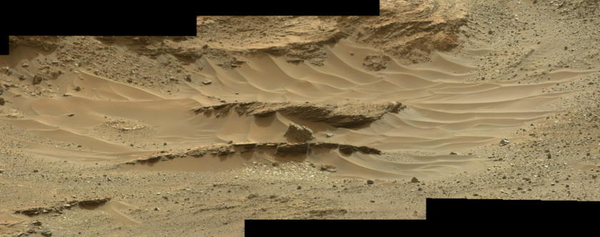 Logan's Run from afar, sol 964