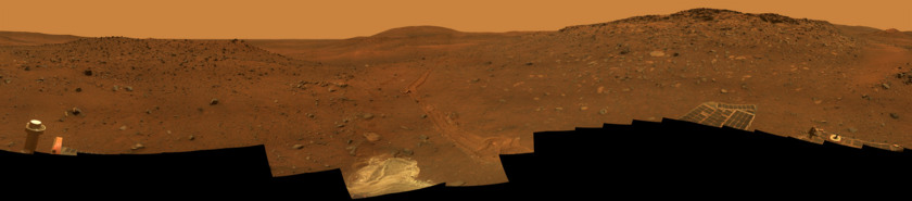 Calypso Panorama of Spirit's View from Troy