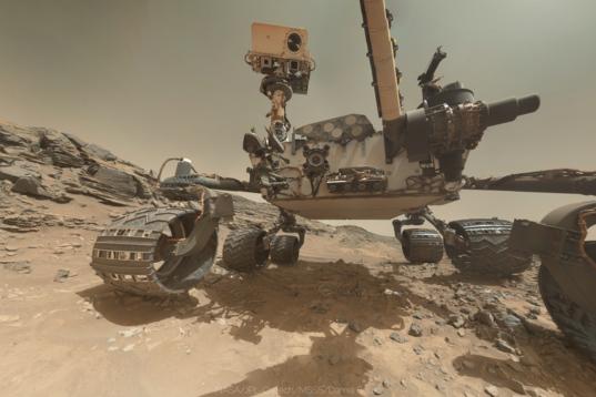 Curiosity self-portrait, sol 1065