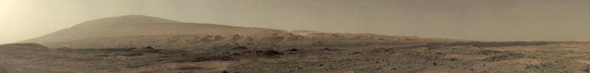 The road ahead, Curiosity sol 1100