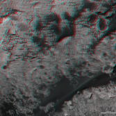 3D route map for Curiosity: Across the Bagnold dune field